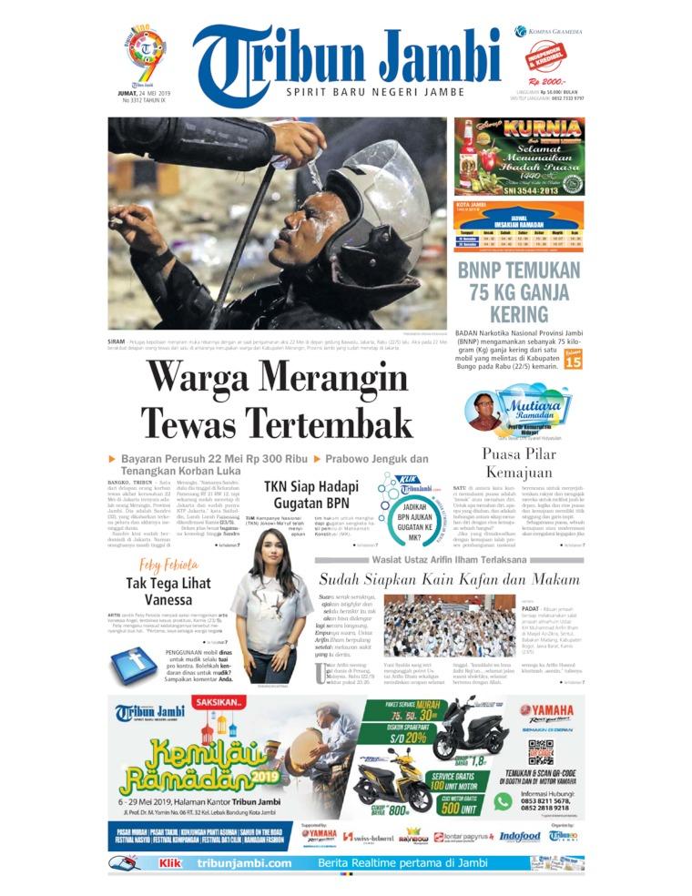 Koran Digital Tribun Jambi 24 Mei 2019