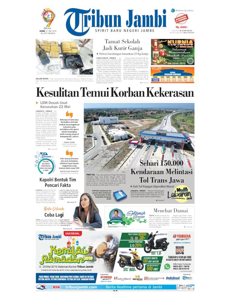 Koran Digital Tribun Jambi 27 Mei 2019