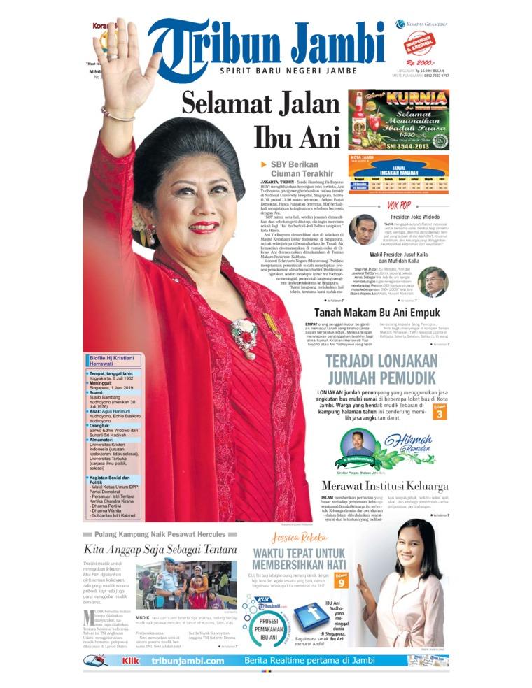Tribun Jambi Digital Newspaper 02 June 2019