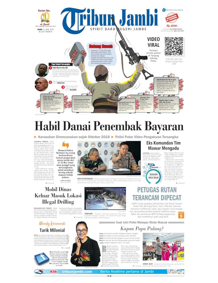 Tribun Jambi Digital Newspaper 12 June 2019