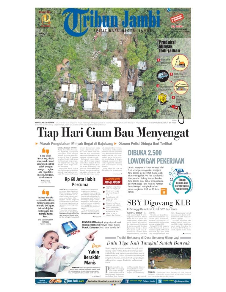 Tribun Jambi Digital Newspaper 17 June 2019