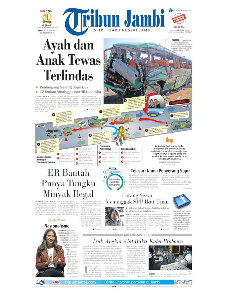 Koran Digital Tribun Jambi 18 Juni 2019