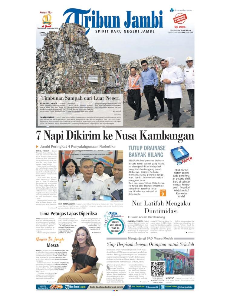 Koran Digital Tribun Jambi 20 Juni 2019
