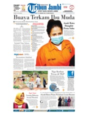 Cover Tribun Jambi 18 Februari 2018