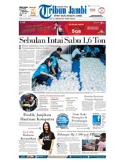 Cover Tribun Jambi 21 Februari 2018