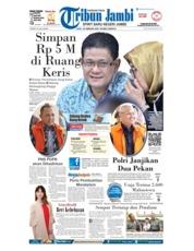 Cover Tribun Jambi 22 Februari 2018