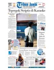 Cover Tribun Jambi 24 Februari 2018