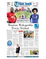 Cover Tribun Jambi 25 Februari 2018