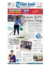 Cover Tribun Jambi 26 Februari 2018