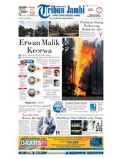 Cover Tribun Jambi 26 April 2018
