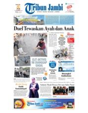 Cover Tribun Jambi 22 Mei 2018