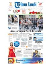 Cover Tribun Jambi 26 Mei 2018