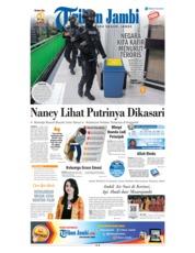 Cover Tribun Jambi 27 Mei 2018