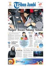 Cover Tribun Jambi 23 Juni 2018