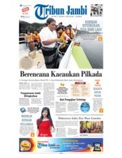 Cover Tribun Jambi 24 Juni 2018