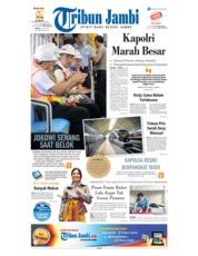Cover Tribun Jambi 14 Juli 2018