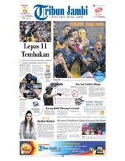 Cover Tribun Jambi 16 Juli 2018