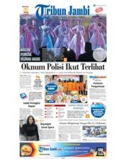 Cover Tribun Jambi 18 Juli 2018