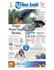 Cover Tribun Jambi 19 Juli 2018