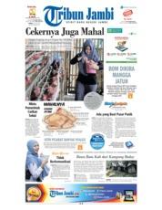 Cover Tribun Jambi 20 Juli 2018