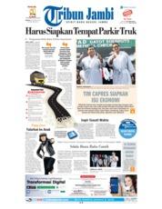 Cover Tribun Jambi 14 Agustus 2018