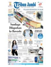 Cover Tribun Jambi 15 Agustus 2018