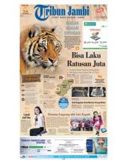 Cover Tribun Jambi 16 Agustus 2018
