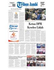 Cover Tribun Jambi 17 Agustus 2018