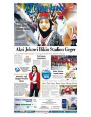 Cover Tribun Jambi 19 Agustus 2018