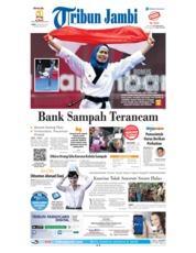 Cover Tribun Jambi 20 Agustus 2018