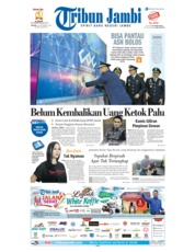 Cover Tribun Jambi 18 September 2018