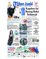 Cover Tribun Jambi 24 September 2018