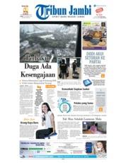 Cover Tribun Jambi 18 Oktober 2018