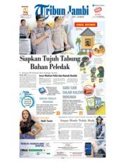 Cover Tribun Jambi 20 Oktober 2018