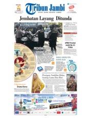 Cover Tribun Jambi 21 November 2018