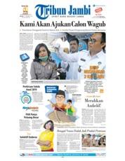 Tribun Jambi Cover 11 December 2018