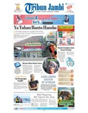 Cover Tribun Jambi 14 Desember 2018