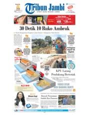 Cover Tribun Jambi 17 Januari 2019