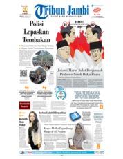 Cover Tribun Jambi 18 Januari 2019