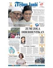 Cover Tribun Jambi 19 Januari 2019