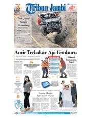 Cover Tribun Jambi 20 Januari 2019