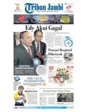 Cover Tribun Jambi 21 Januari 2019