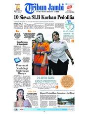 Cover Tribun Jambi 22 Januari 2019