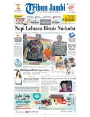 Cover Tribun Jambi 16 Februari 2019