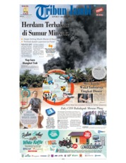 Cover Tribun Jambi 17 Februari 2019