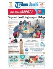 Cover Tribun Jambi 18 Februari 2019
