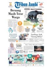 Cover Tribun Jambi 19 Februari 2019