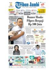 Cover Tribun Jambi 22 Februari 2019