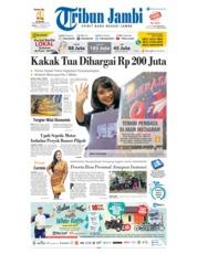Cover Tribun Jambi 23 Februari 2019