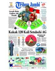 Tribun Jambi Cover 24 February 2019
